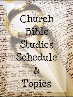 Click to see a list of current Bible study topics.